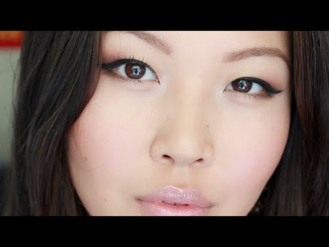 Quick Everyday Makeup for Asian Eyes + Favorite Drugstore Products Review