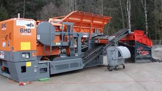 LS28 & BMD Brecher Asphalt-Recycling / Recycling of Asphalt