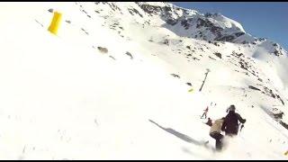 滑雪場發生意外,被撞的男子表現出的態度讓網友稱讚!
