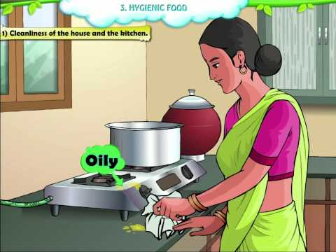 Std 2 - EVS - Hygienic Food
