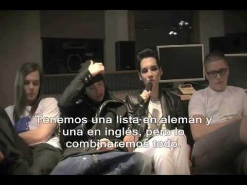 Tokio Hotel Humanoid City Tour Entrevista Parte I (Español)