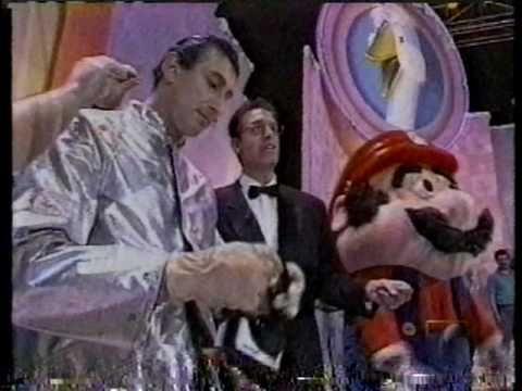 Super Mario in El Gran Juego De La Oca spanish TV game show