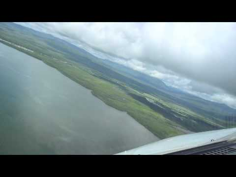 landing approach airbus a320 puerto princesa palawan cockpit view