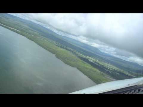 landing approach airbus a320 puerto princesa palawan cockpit view