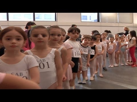 Baby ballerinas - New York Post