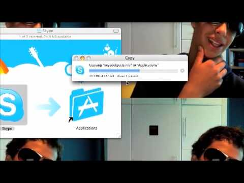 how to setup skype on a mac