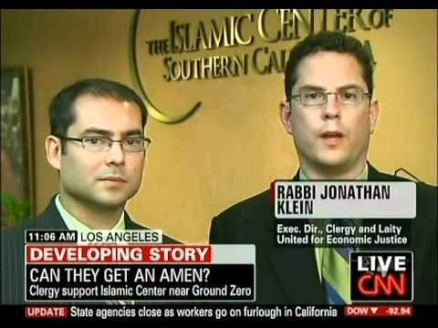 "Park 51 ""Mosque Near Ground Zero"" CNN interview with Jihad Turk & Rabbi Jonathan Klein"