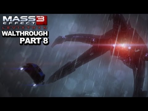*SPOILERS* Mass Effect 3: Leviathan DLC Walkthrough  The Ending - Part 8