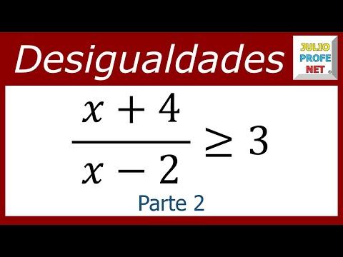 Desigualdad Racional (Parte 2 de 2)