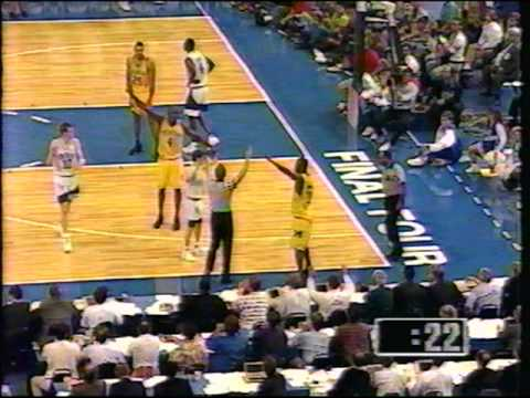 Kentucky  Wildcats vs Michigan Fab 5 - 1993 Final 4 (Part 1 of 3)