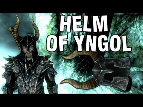 "Skyrim - Helm of Yngol Tutorial Commentary ""Guide Rare Helmet"""
