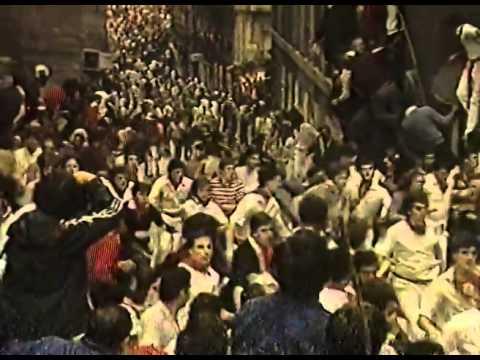 Encierro San Fermin Pamplona del dia 12 7 1982