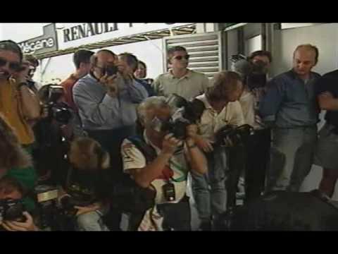 colin mcrae testing jordan formula 1 car 1996