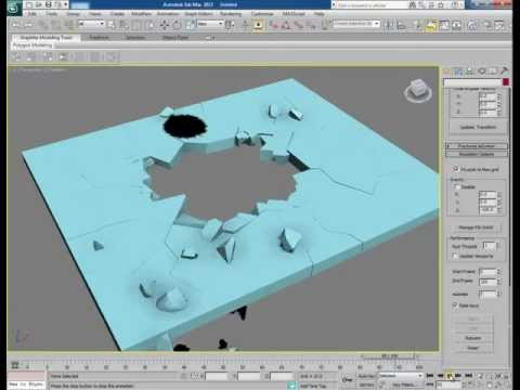 Tutorial: Breaking Objects in 3ds Max with PullDownIt - Video 4
