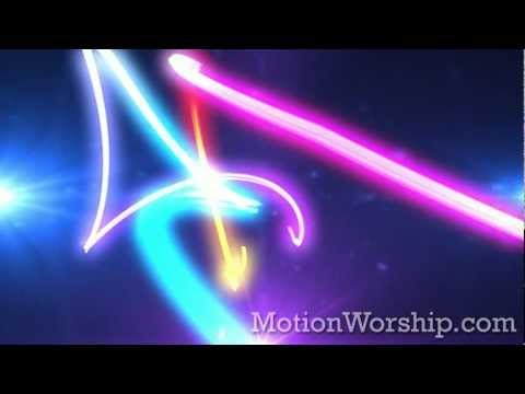 Hyper Lines And Particles Looping Background - by Motion Worship
