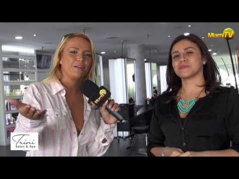 Miami TV Life - Jenny Scordamaglia @ TRINI Salon & SPA