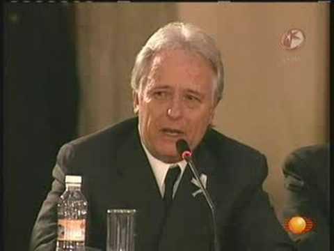 Discurso de Alejandro Martí ante Consejo Nacional de Seguridad