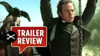 Instant Trailer Review - The Lone Ranger Official Trailer (2012) - Johnny Depp Movie HD