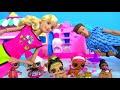 Фрагмент с конца видео #BARBIE ЧЕЛЛЕНДЖ ЛОЛ! LOL SURPRISE + PLAY DOH BARBIE TOY CHALLENGE!  КУКЛЫ ЛОЛ! Игрушки My Toys Pink