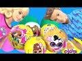 #BARBIE ЧЕЛЛЕНДЖ ЛОЛ! LOL SURPRISE + PLAY DOH BARBIE TOY CHALLENGE!  КУКЛЫ ЛОЛ! Игрушки My Toys Pink