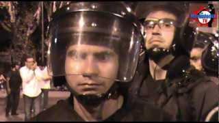 Basta de reprimir las protestas!!!. Parque Centenario. 29/Enero/2013