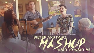 Shut Up and Dance/Want to Want Me MASHUP (Sam Tsui & Diamond White)