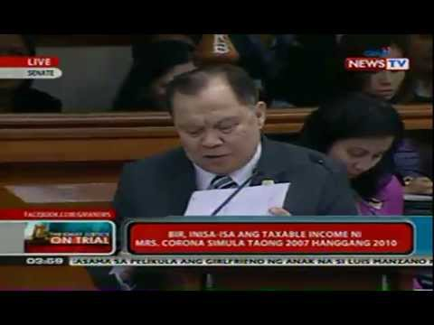 Day 6 of the Impeachment Trial of Chief Justice Renato Corona