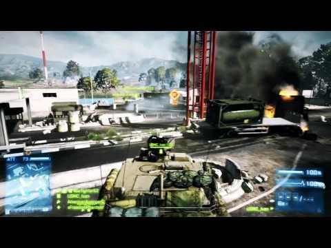 Battlefield 3 (BF3) Live Commentary : Caspian Border