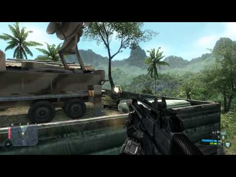 Crysis Walkthrough - Level 2: Recovery [Part 1] HD 5870 Max (1080p)