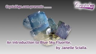 Healing Crystals Guide - Blue Sky Fluorite