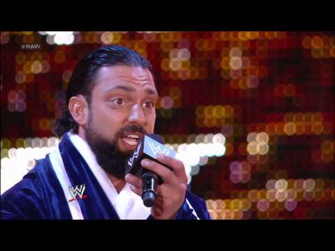 Damien Sandow serenades Randy Orton - Raw: May 6, 2013