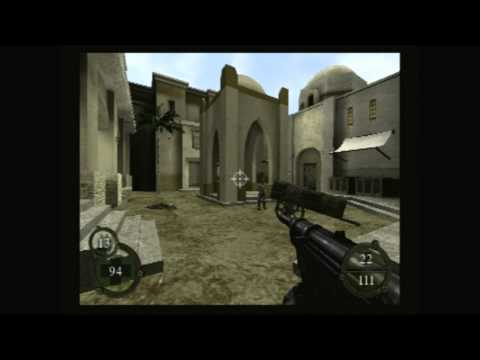 CGRundertow - RETURN TO CASTLE WOLFENSTEIN: OPERATION RESURRECTION for PS2 Video Game Review