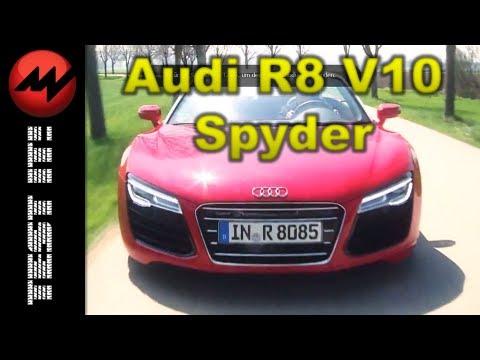 Audi R8 V10 Spyder - Test it - Video