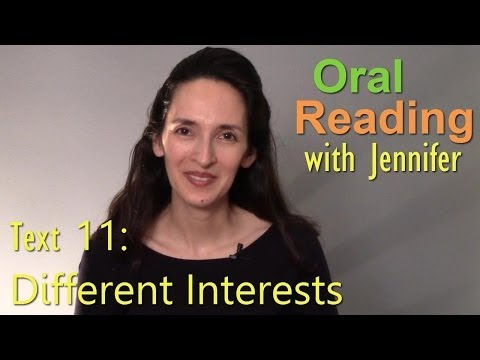 Oral Reading Fluency 11 -