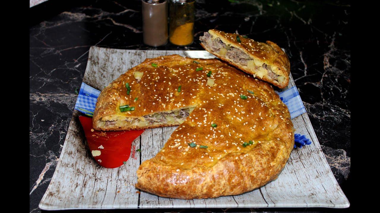 Пироги на кефире с мясом пошаговый рецепт с