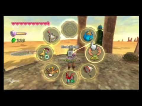 Legend of Zelda Skyward Sword Walkthrough - PT. 57 - Lanayru Sand Sea - Skipper-s Retreat