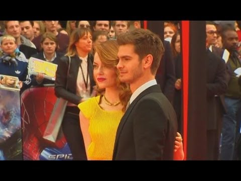 FUNNY: Andrew Garfield refuses to talk about girlfriend Emma Stone