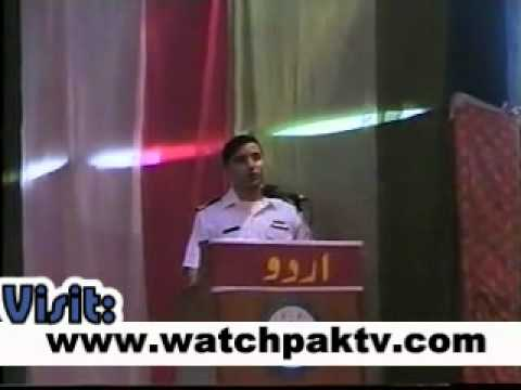 Best Funny Speech in urdu Navy College Student
