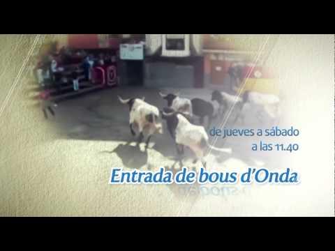Promo Encierros de la fira de Onda