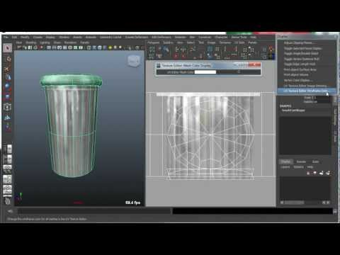 Maya Bonus Tools - UV Editor Display