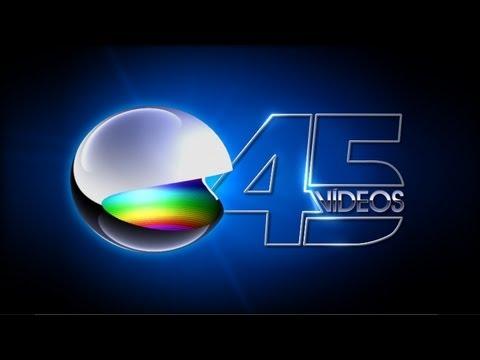 Sátira aos 45 anos da Globo: Vinheta 45 vídeos + vídeo antigo + nosso novo twitter!