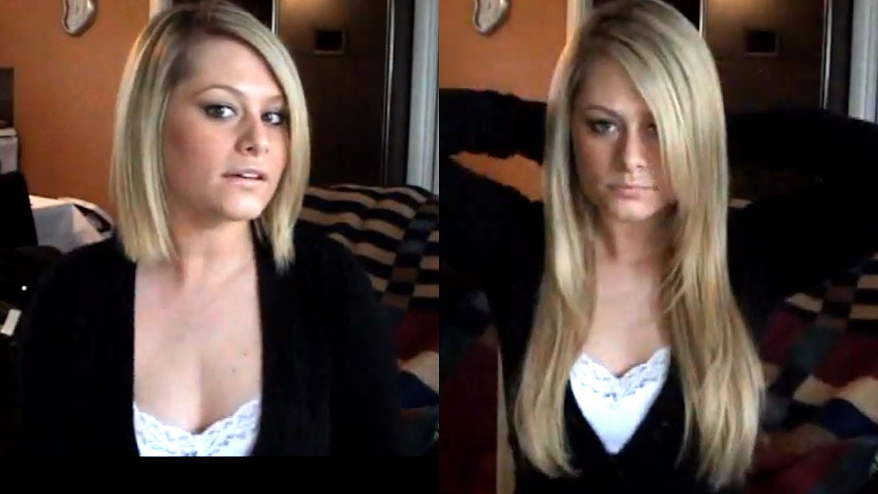 Blended Hair Extensions Hair Extensions For Short