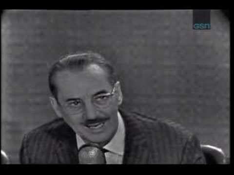 Groucho Marx What-s My Line?