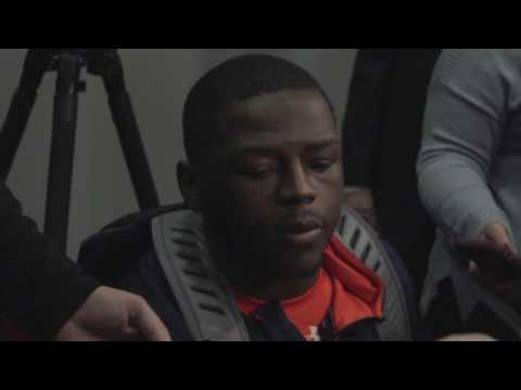 Dontavius Russell Post-Game Interview | Auburn at Georgia 2016