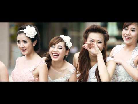 Lilly Luta (Nguyễn Thị Lượm) xinh xắn trong buổi chụp hình áo cưới