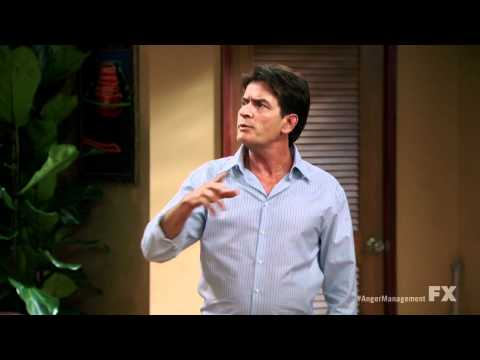 Anger Management trailer Season 1 charlie sheen 720p