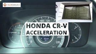 Honda CR-V 1.6 i-DTEC 120 KM 2x4 - acceleration 0-100 km/h