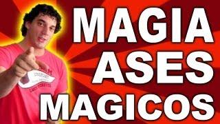 Truco de magia con cartas explicados, magia con ases