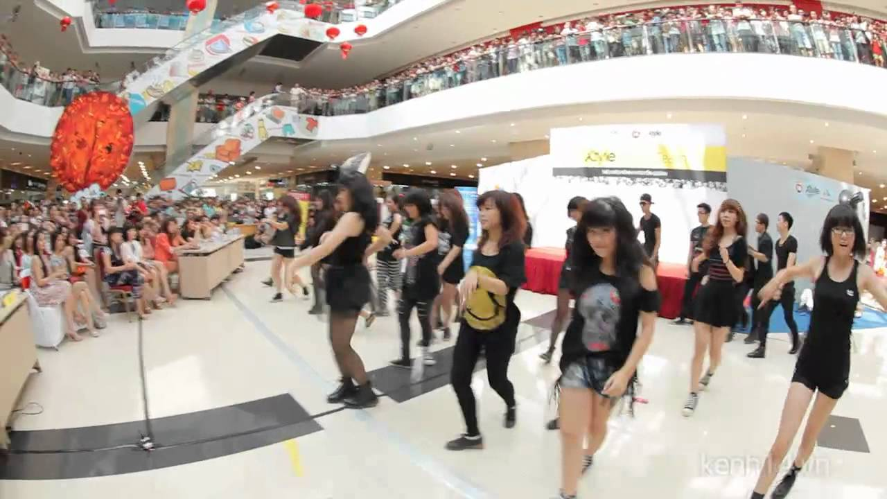 [YG Lovers Crew] Flashmob Fantastic baby + Gangnam style