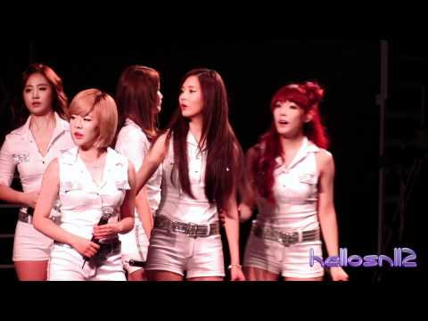 120702 SNSD - Hoot with Technical Problems@Kpop Nation Concert in Macao 2012